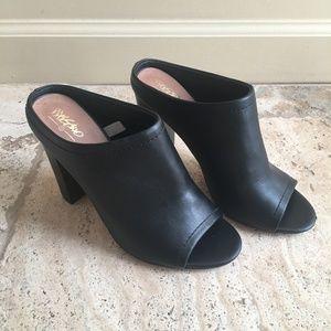 Black Mule Heels